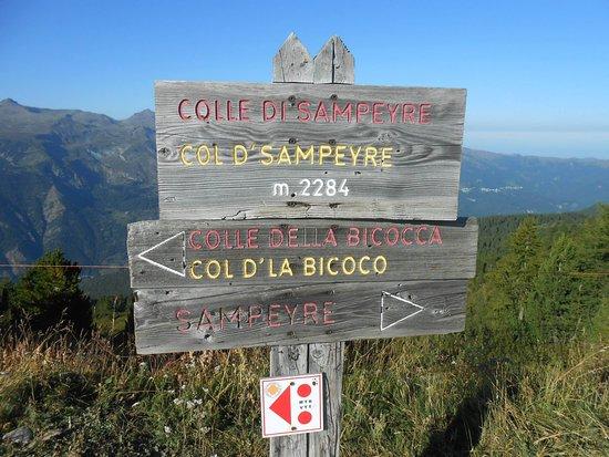 Stroppo, Itália: Colle di Sampeyre