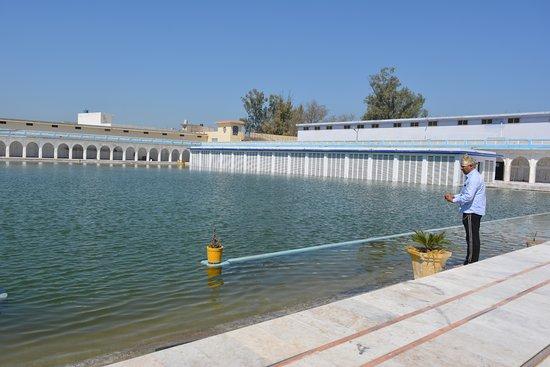 Holy water body at Gurudwara Baoli Sahib, Pehowa