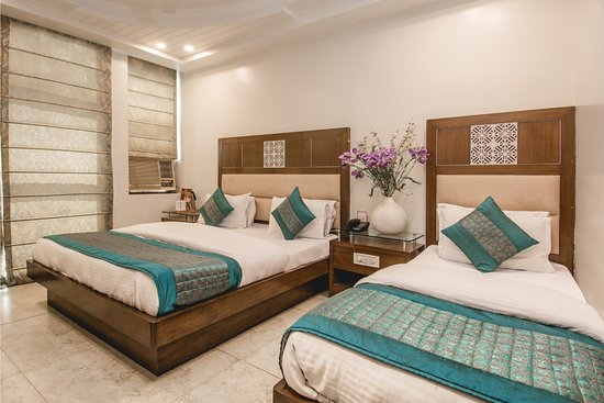 Hotel Sita International : Triple Deluxe - Spacious rooms accommodating 3 adults.