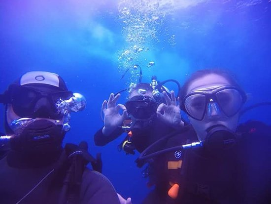 French Kiss Divers: Open water team