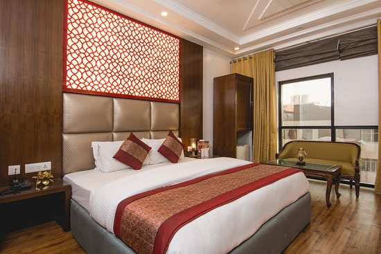 Hotel Sita International : Premium Double Beds - suited for the traveler looking for luxury