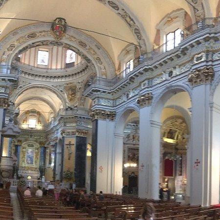 La cathédrale Sainte-Reparate vu de l\'intérieur - Bild von ...