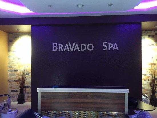 Kampala, Uganda: Welcome to Bravado Spa