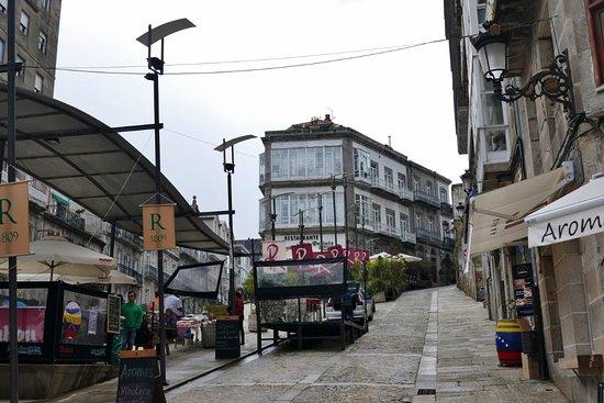 Casco Vello Vigo: Restaurantmeile in der Altstadt von Vigo