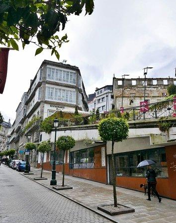 Casco Vello Vigo: Historischer Stadtkern