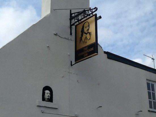 Hedon, UK: Williams head on the side of the Shakespeare 