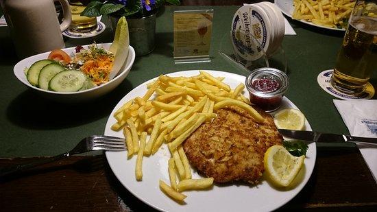 Braustuberl Weihenstephan: Schnitzel