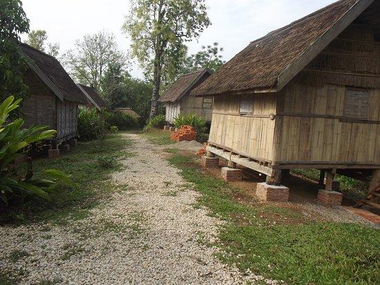 Sayaboury, Laos: Accomodation bungalows