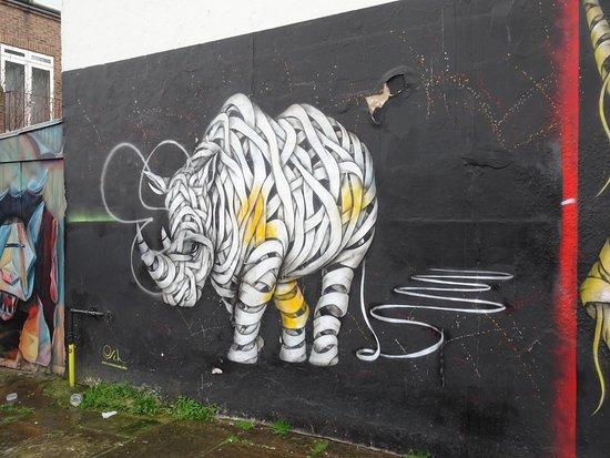 London, UK: Camden Town, day after the Street Art Tour.