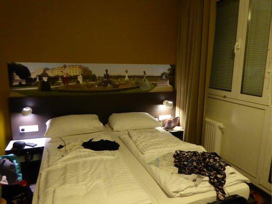 MEININGER Hotel Wien Downtown Sissi: twin beds were comfortable