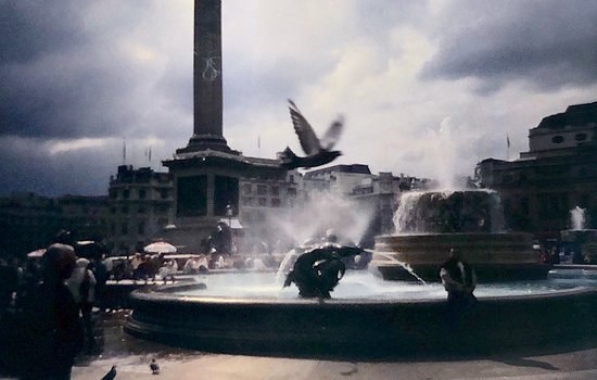 London, UK: Felipe Galarce: Trafalgar Square