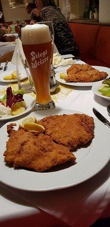 Stockerau, ออสเตรีย: Schnitzel