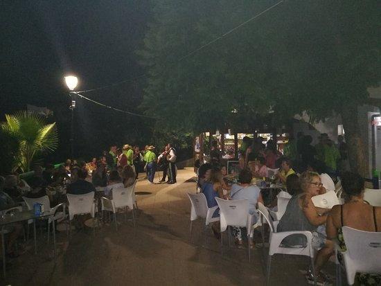 Sumacarcer, إسبانيا: Cenas en el Chiringuito de Sumacàrcer