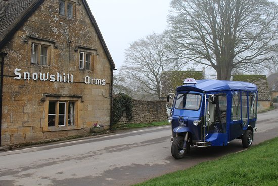 Snowshill Village, UK: Snowshill Visit On Tuk Tuk With Chris From Cotswolds Tuk Tuk Tour