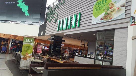 Tamani Kafe: Tampak depan