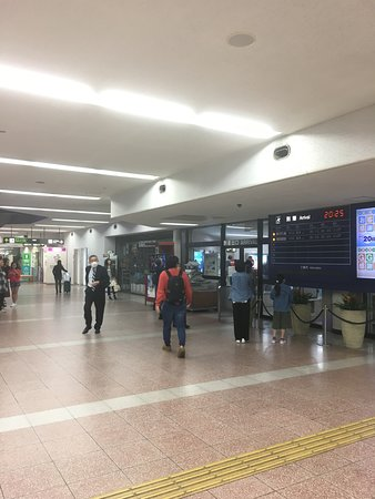 Kochi Airport General Information Center: 案内所のある到着ロビー