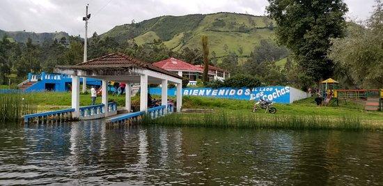 Laguna Las Cochas: salón para eventos exclusivo