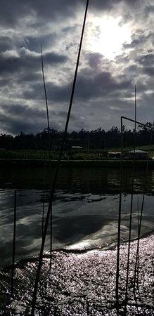 Laguna Las Cochas: Mágicos atardeceres