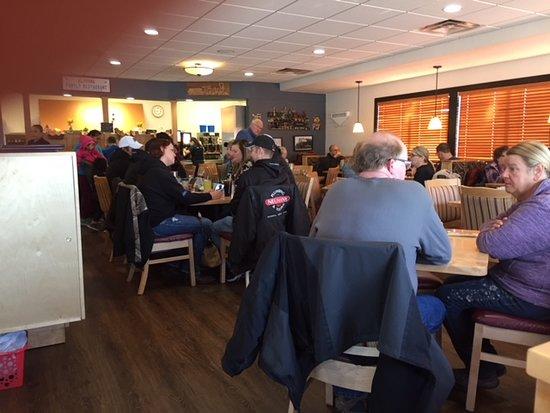Seating in Altoona Family Restaurant