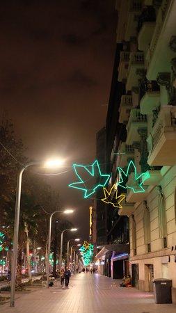 NH Hesperia Barcelona Presidente: along the avenue on the same block as the hotel