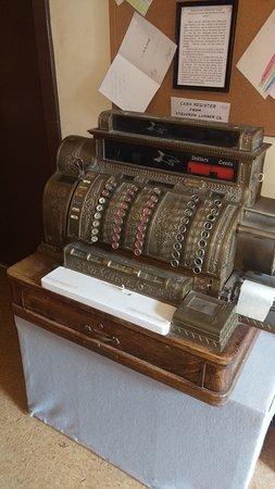 Adrian, MI: Old cash register