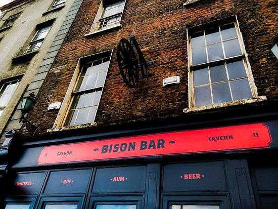 Bison Bar and BBQ: The Exterior of Bison Bar, Dublin