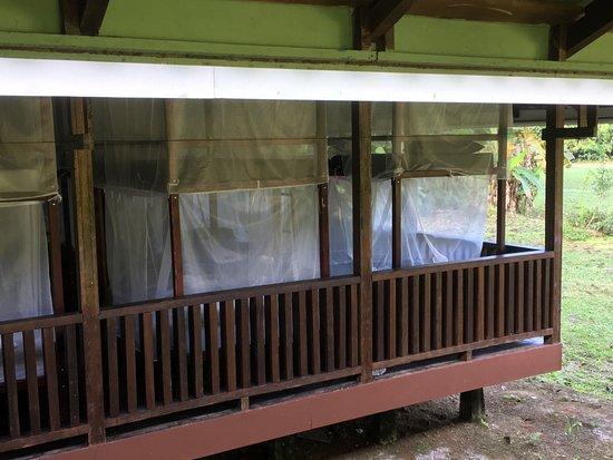 Drake Bay, Kosta Rika: Open Air-Schlafsaal