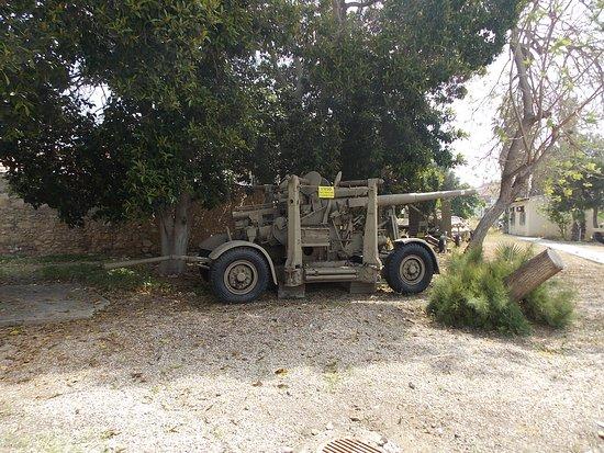 Israel Defense Forces History Museum: Cañón capturador