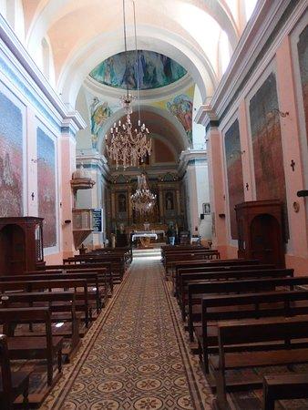 Villa Tulumba, Argentina: Vista nave central