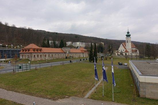 Bad Bruckenau, Germany: Aussicht vom Zimmer