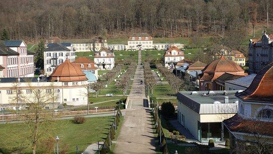 Bad Bruckenau, Germany: Kurparkgelände