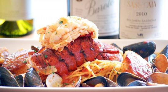 Valley View, OH: Seafood Fra Diavolo
