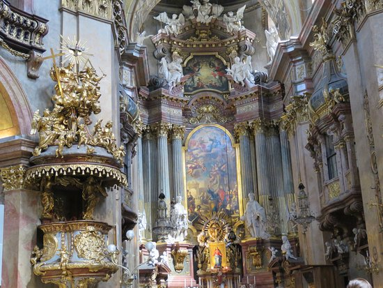 St Peters Church Main Altar Picture Of Peterskirche Wien