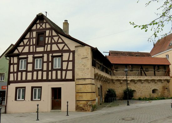 Gunzenhausen, ألمانيا: historische Stadtbefestigung