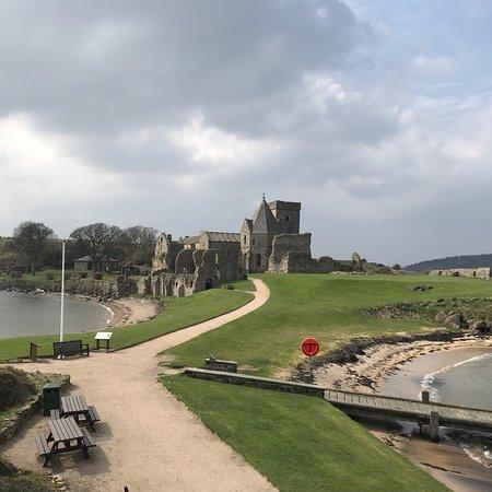 Inchcolm Abbey and Island ภาพถ่าย