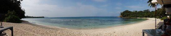 Grand Anse, Îles Seychelles : bay view