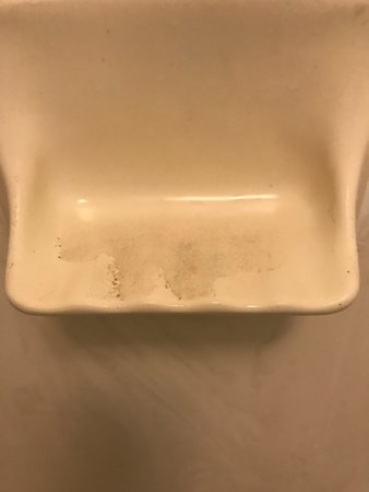 Quality Inn Roanoke Rapids: FILTHY SOAP DISH