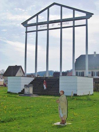 Augst, Switzerland: foruteen