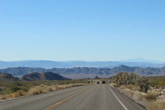 Mojave National Preserve: Heading South on Kelbaker Road, near I-40
