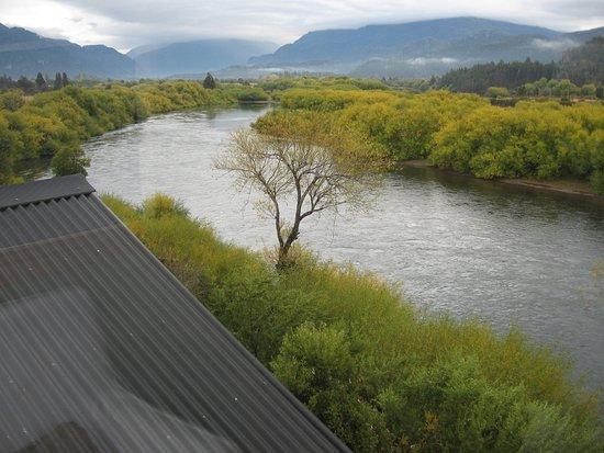 Trevelin, Argentina: Vista hacia el Río