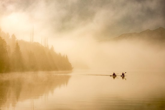 Barkerville, Canadá: Kayaking along the Gold Rush Trail.