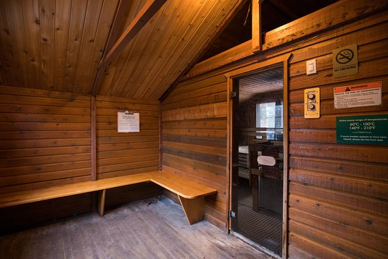Hidden Ridge Resort: Sauna