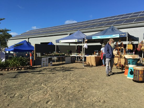 Kingscote, Australia: Outside - plant stall