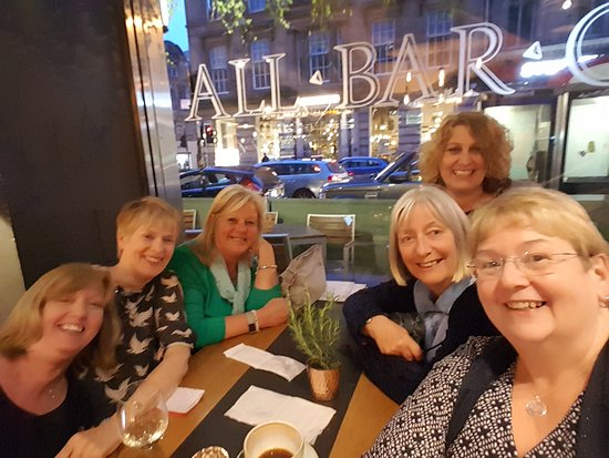All Bar One - Glasgow: 60th birthday with friends