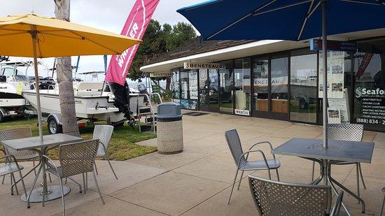 Balcony - Picture of Harbor Island Liquor and Deli, San Diego - Tripadvisor