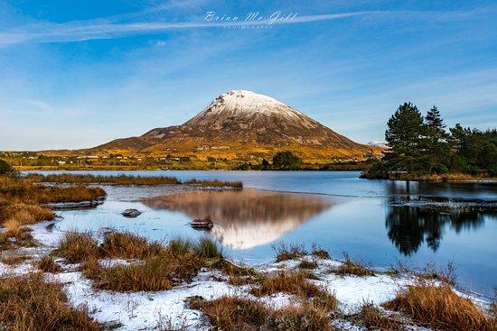 Creeslough, Ireland: Mount errigal