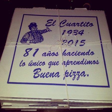 El Cuartito: Comemos ahí y llevamos más para casa!!