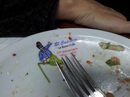 El Cuartito: Del almuerzo no quedó nada para mostrar