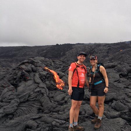 Kailua-Kona, Hawái: Recent adventure in Hawai'i Volcano National Park:)