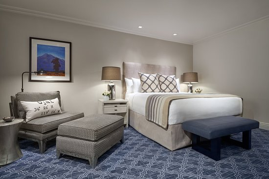 Ojai, CA: Guest room